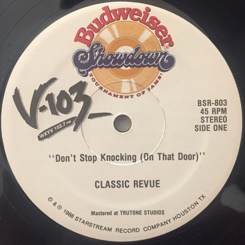 CLASSIC REVUE:DON'T STOP KNOCKING(ON THE DOOR)(LABEL SIDE-A)