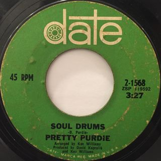 PRETTY PURDIE:SOUL DRUMS(LABEL SIDE-A)