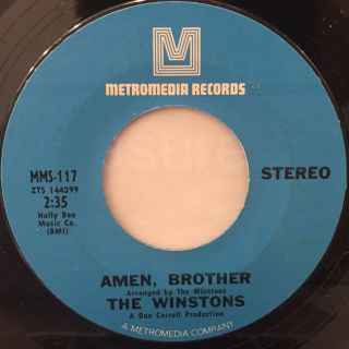 THE WINSTONS:COLOR HIM FATHER(LABEL SIDE-B)