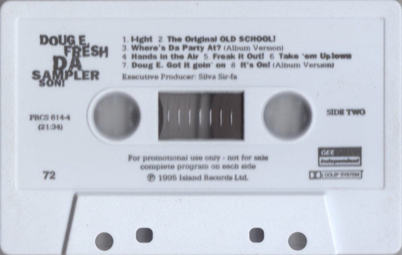 DOUG E. FRESH:DA SAMPLER SON!-SIDE-B
