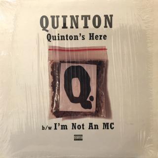 QUINTON:QUINTON'S HERE(JACKET A)